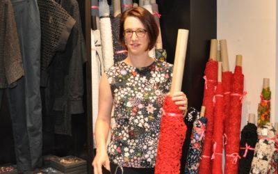 Modeunternehmerin als Präsidentin in einer Männerdomäne