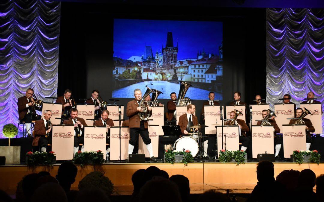 Die erfolgreichste Blaskapelle der Welt mit Musikantenstolz in Arbon